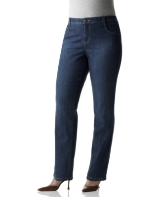 Charter Club Plus Size Jeans, Classic Fit Madrid Wash - Jeans