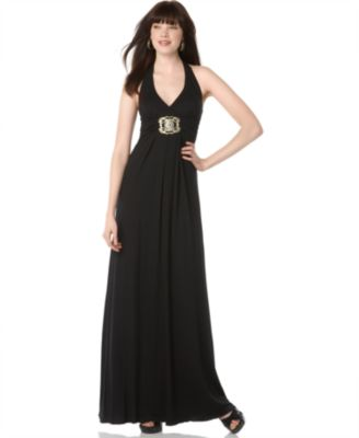 Love Tease Halter Maxi Dress