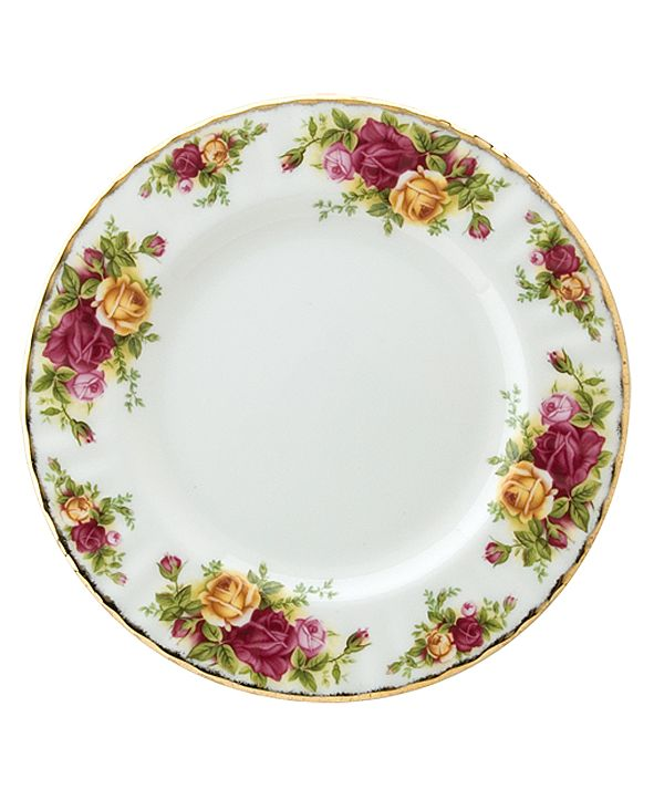 """Royal Albert Old Country Roses 8"""" Salad Plate"""