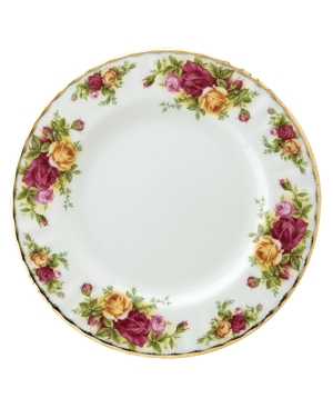 "Royal Albert ""Old Country Roses"" Salad Plate, 8"""