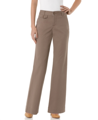 Dockers Pants, Marley Truly Slimming Twill Wide Leg
