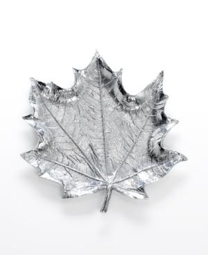 """Martha Stewart Collection Serveware, 13"""" Park Leaves Platter"""