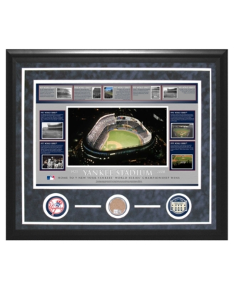 "Steiner Sports Yankee Stadium ""Piece of the Field"" Timeline Collage"