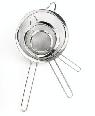 Martha Stewart Collection 3-Piece Sieve Set