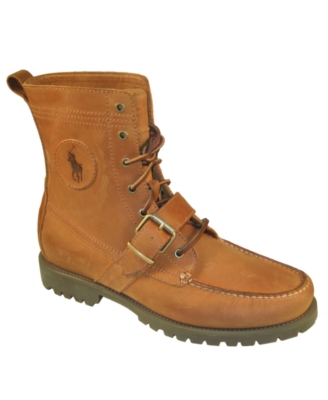 Polo Ralph Lauren Boots, Ranger Strap Men's Shoes