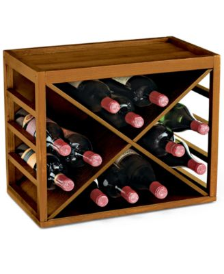 Wine Enthusiast Cube Stack X Wine Rack