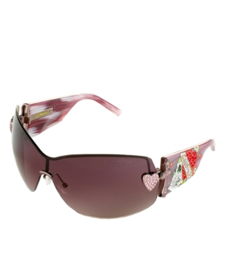 Ed Hardy Zeke Shield Sunglasses - Modern Sunglasses