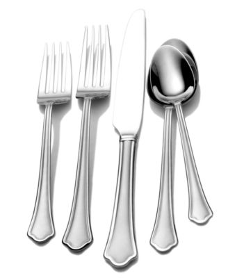 International Silver, Stainless Steel 51-Pc. Capri Frost Collection, Service for 8, Only at Macy's