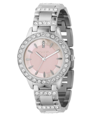 Fossil Watch, Women's Stainless Steel Bracelet ES2189