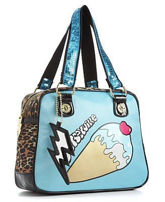 Betseyville by Betsey Johnson Handbag, Summer Mania Satchel - New Arrivals - Handbags & Accessories  - Macy's from macys.com