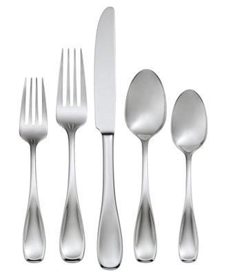 Oneida Voss 50-Piece Flatware Set - Flatware & Silverware - Dining