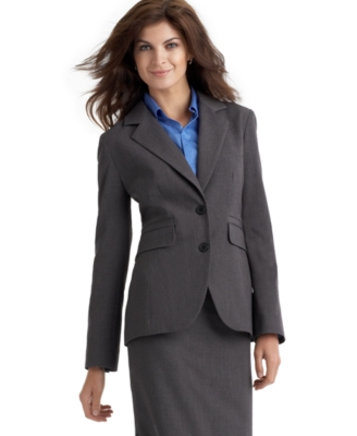 Rafaella Two-Button Suiting Jacket