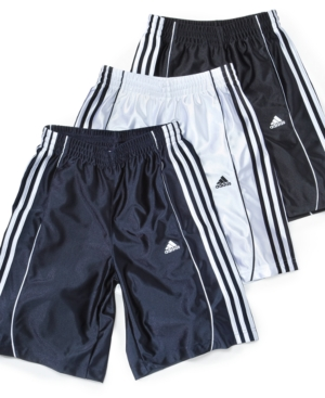 adidas Boys Shorts, Repetition Striped