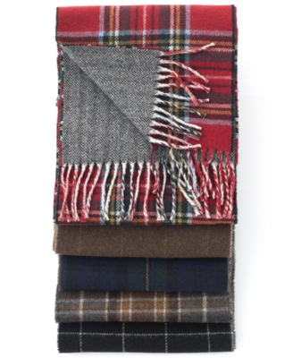 Polo Ralph Lauren Scarf, Reversible Lambswool