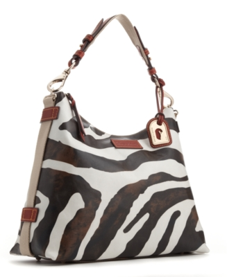 Dooney & Bourke Handbag, Zebra Juliette Hobo