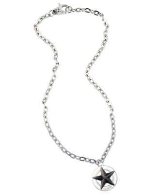 D&G Pendant, Stainless Steel Star