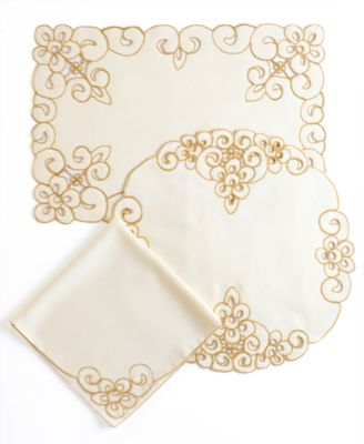 Homewear Table Linens, Set of 4 Lancelot Napkins