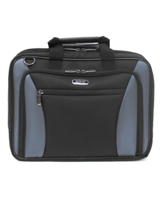 "Kenneth Cole Reaction Laptop Bag, 17"" Double-Gusset Checkpoint Friendly"