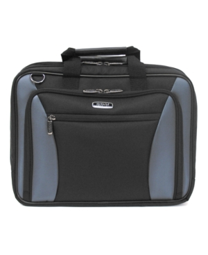 "Kenneth Cole Reaction Laptop Bag, 17"" Double-Gusset Checkpoint and Laptop Friendly"