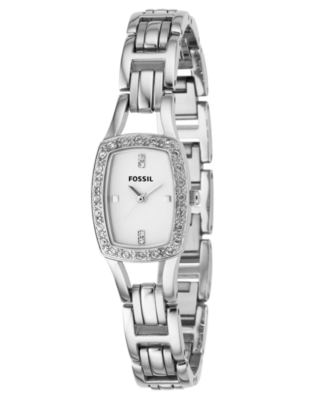 Fossil Watch, Women's Stainless Steel Bracelet ES2411
