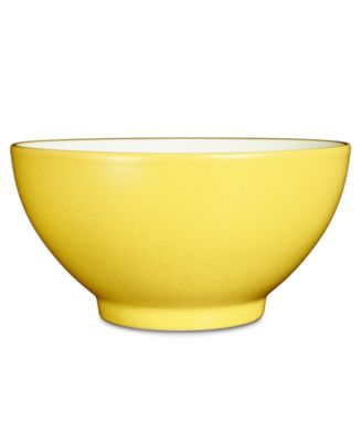 "Noritake ""Colorwave Mustard"" Rice Bowl, 6"""