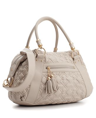 Tahari Handbag, Plush Scoop Shopper