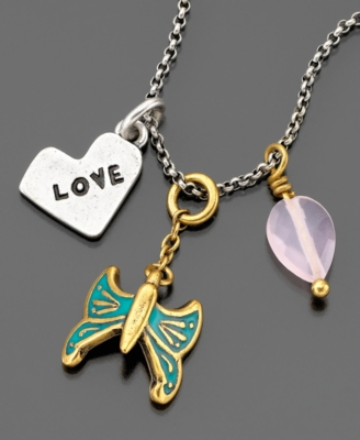 Lucky Brand Necklace, Dove