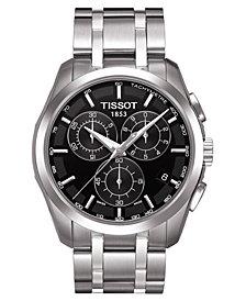 Tissot Men's Chronograph Stainless Steel Bracelet Watch 41mm T0356171105100