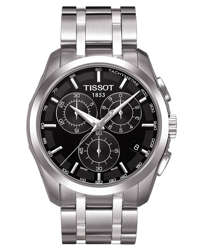 Tissot - Watch, Men's Chronograph Stainless Steel Bracelet T0356171105100