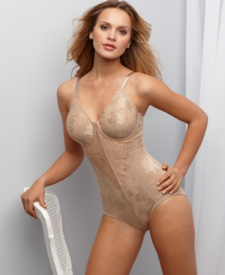 Flexees Body Briefer, Unlined Minimizer
