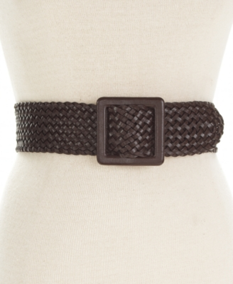 Style&co. Belt, Woven Covered Buckle