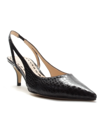 Enzo Angiolini Shoes, Jumble Slingback Pumps Women's Shoes