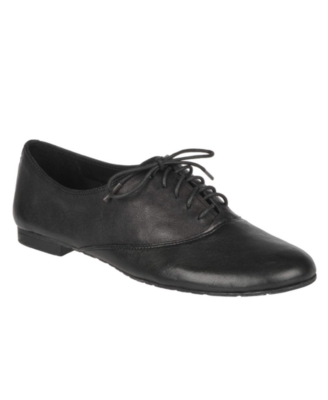 Franco Sarto Shoes, Henley Lace-Up Flats Women's Shoes