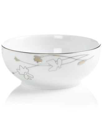 Charter Club Dinnerware, Grand Buffet Platinum Silhouette Round Cereal Bowl