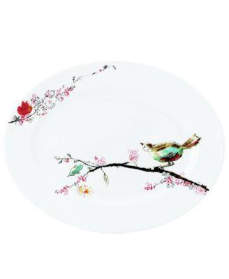 Simply Fine Dinnerware, Chirp Medium Platter