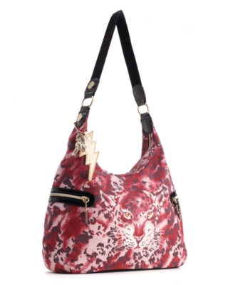 Betseyville by Betsey Johnson Handbag, Cat-ch Me Hobo, Medium