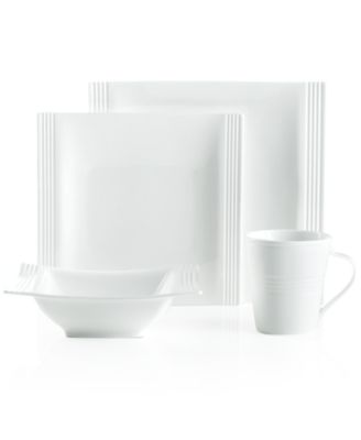 Lenox Dinnerware, Tin Can Alley Square 4 Piece Place Setting