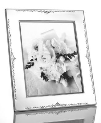 "Monique Lhuillier Waterford Picture Frame, Modern Love 8"" x 10"""
