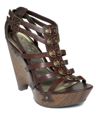 Jessica Simpson Shoes, Kamacozy Wedge Sandals Women's Shoes