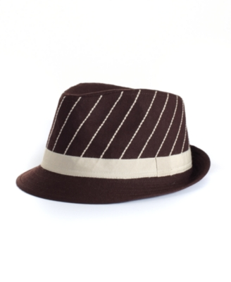 David & Young Hat, Diagonal Stitch Fedora