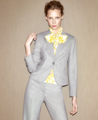 Nine West Suit, Jacket and Pants with Printed Camisole
