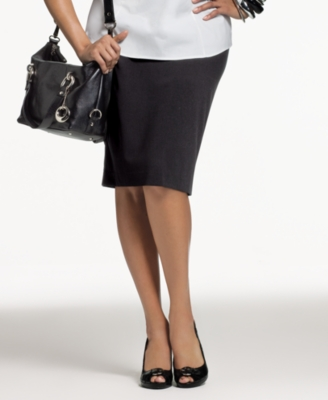 Alfani Plus Size Skirt, Pencil Skirt - Alfani