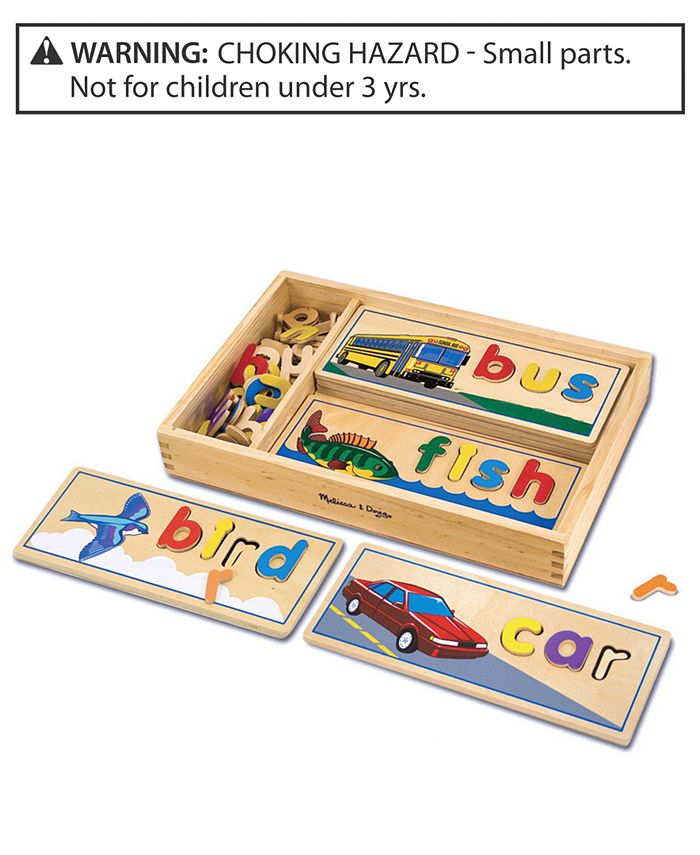 Melissa and Doug - Toy, See & Spell