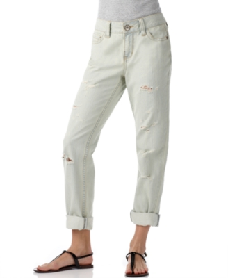 DKNY Jeans Boyfriend Jeans, Destroyed Cava Wash