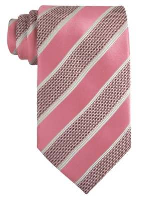Donald Trump Tie, Textured Core Stripe