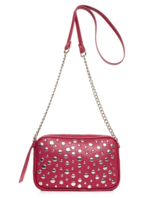 Steve Madden Handbag, Stud Loyal Shoulder Bag, Small
