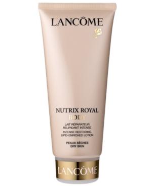 Lancôme NUTRIX ROYAL BODY Intense Restoring Lipid-Enriched Lotion, 6.7 Fl. Oz.