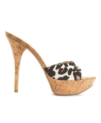Guess Shoes, Clair Platform Sandals Women's Shoes