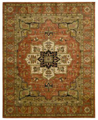 Nourison Rugs Persian Legacy Pl04 Terracotta Rugs Macy S