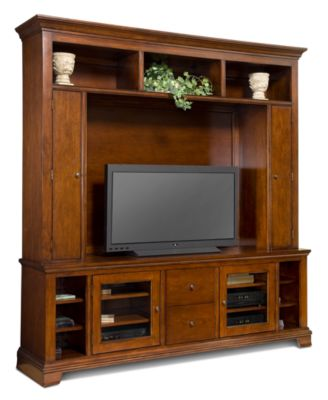 Crystal Entertainment Center, 2 Piece...